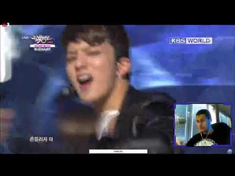 [Music Bank] B.A.P - One Shot (2013.02.15) // РЕАКЦИЯ