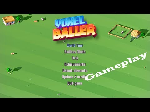 Voxel Baller - Gameplay PC (no commentary) |