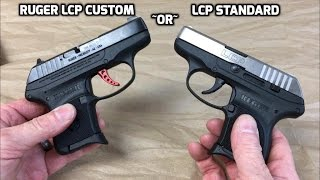 Ruger LCP and Custom LCP (HD)