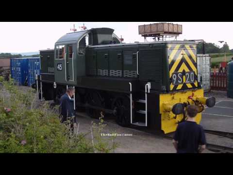 (HD)D9520  No45 Loaded on Trailor Bishops Lydeard 22nd August 2009