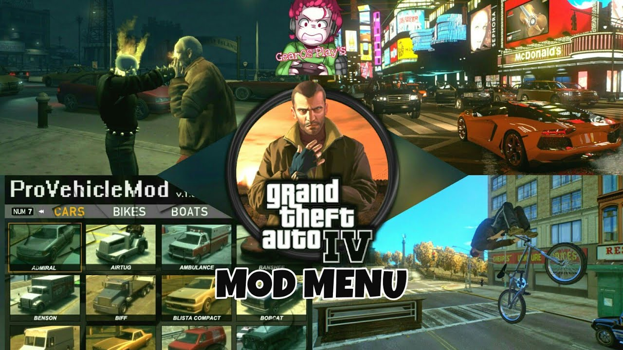 Install |GTA 4| New 2018 Simple Native Trainer MOD MENU With (Script Hook  V)-Full Installation Guide