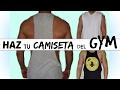 DIY: Recicla y corta tu camiseta con estilo (para hombres) - Style ShareM