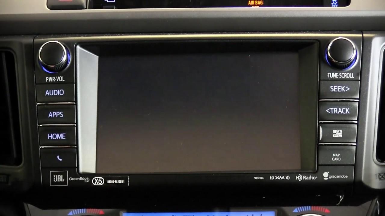 Toyota Rav4 2016 Entune System Youtube