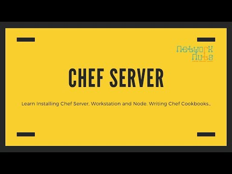 Installing Chef Server, Workstation & Node - Creating & Uploading Chef Cookbooks