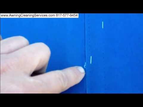 Canvas Awning Repairs Seams Repairs Dallas Fort Worth TX 817 577