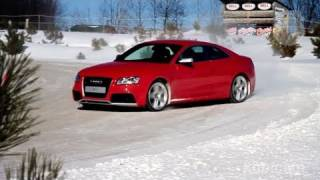 Audis on Ice - KBB puts Quattro to the test