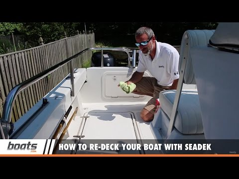 How to Re-deck Your Boat With SeaDek