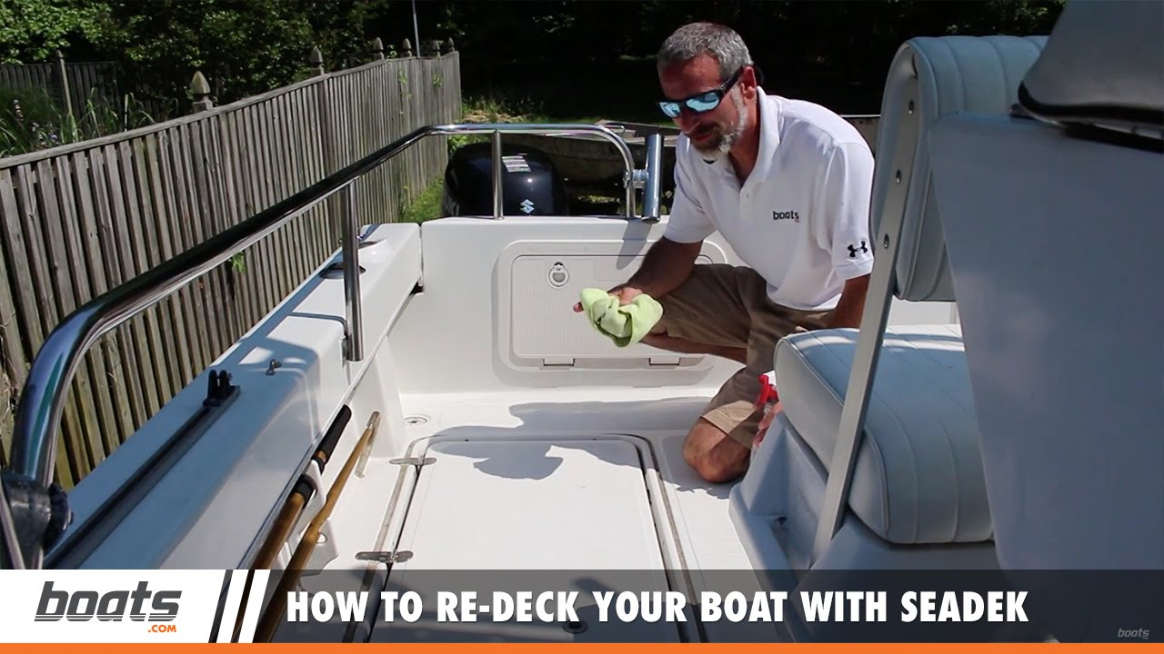 How to re deck your boat with seadek youtube solutioingenieria Image collections