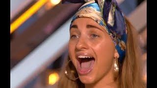 V.I.P. Airport Worker Blows Judges Away With Powerful Spell | Audition Week 2 | The X Factor UK 2017