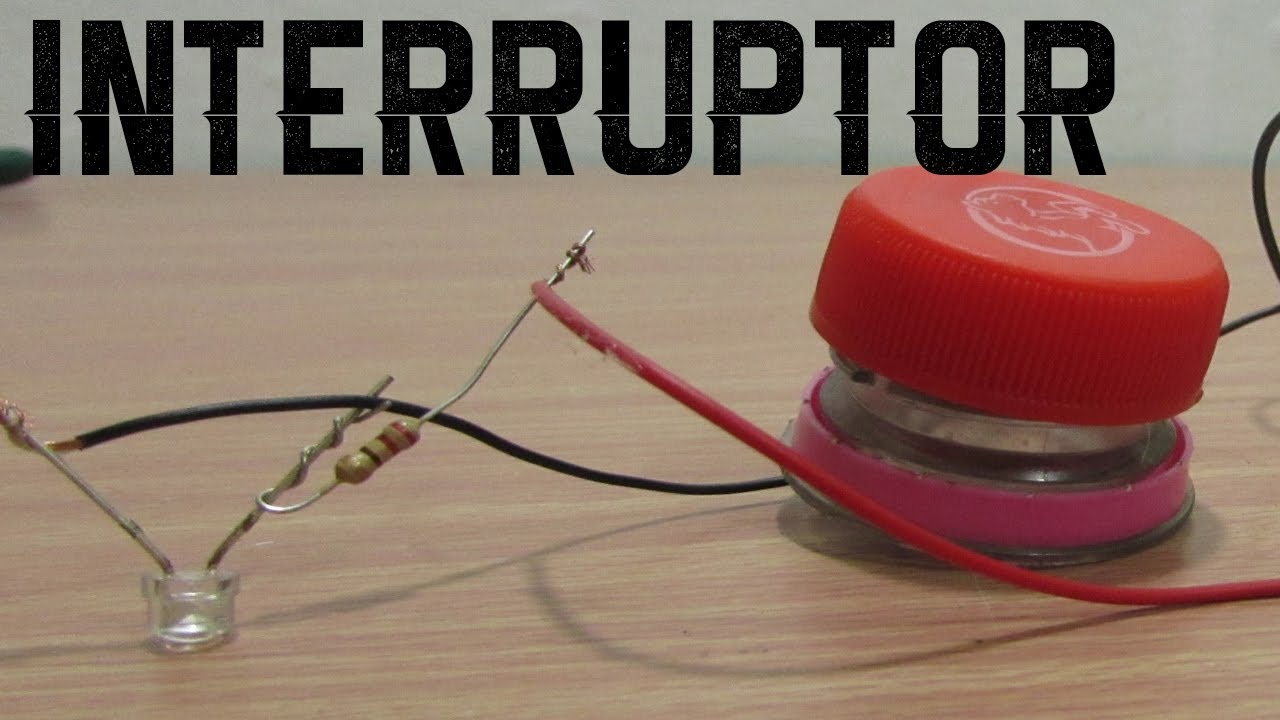 Como hacer un interruptor casero provisional super facil - Como hacer un photocall casero ...