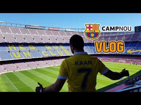 Barcelona Nou Camp stadını gezdim | Vlog | Barcelona Stadyum Turu |