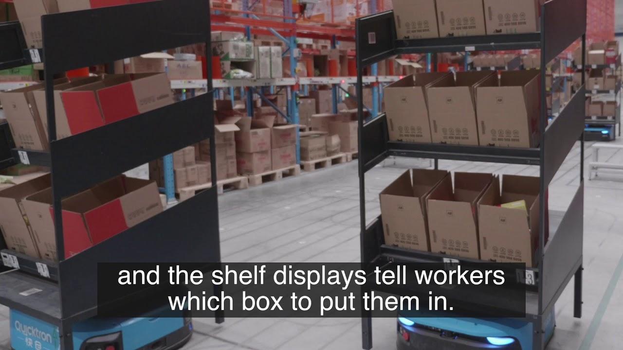 Alibaba Cainiao Automated Warehouse