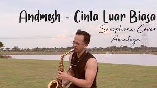 Cinta Luar Biasa - Andmesh Kamaleng (Saxophone Cover) Christian Ama