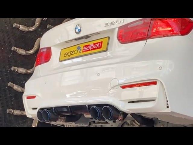 BMW F80 M3 DÖNÜŞÜM BODYKİT VE EGZOZ SESİ