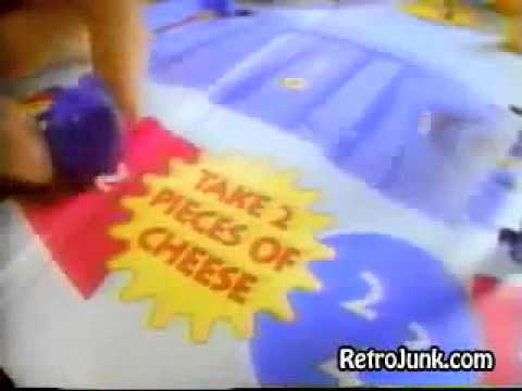 Mouse Trap - Classic Board Game - TV Toy Commercial - TV Spot - TV Ad - Milton Bradley - 1995