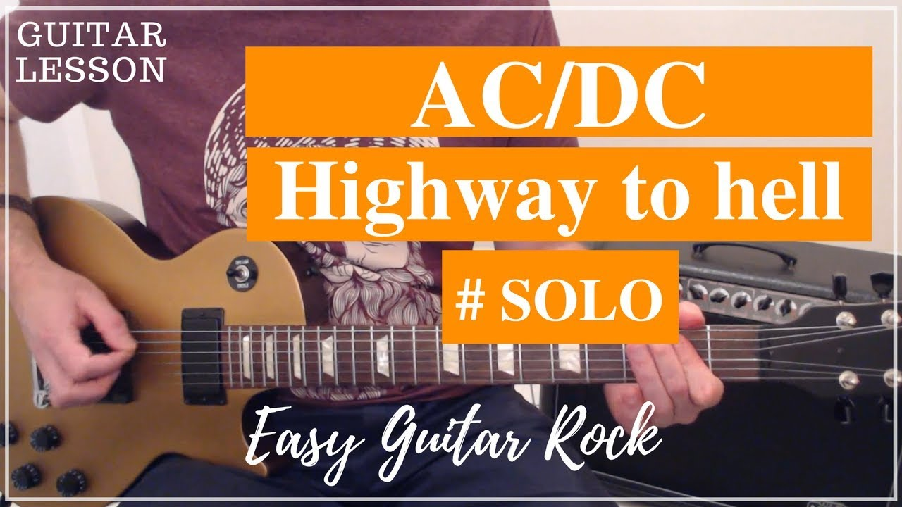 ac dc highway to hell guitar solo youtube. Black Bedroom Furniture Sets. Home Design Ideas