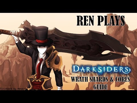 Let's Play Darksiders: Warmastered Edition Wrath Shards & Cores Guide  