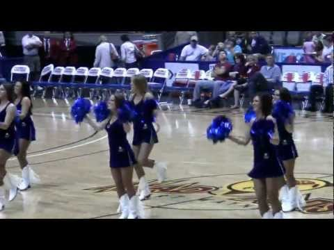 Colts cheerleaders at Ft. Wayne Mad Ants game 00069.MTS