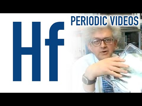 Video image: Hafnium - Periodic Table of Videos