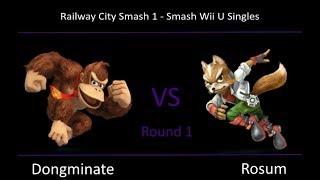 Baixar RCS #1 Smash Wii U - Dongminate (Donkey Kong) vs Rosum (Fox)