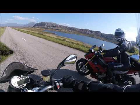 Scotland North Coast 500 Motorcycle Tour 2016