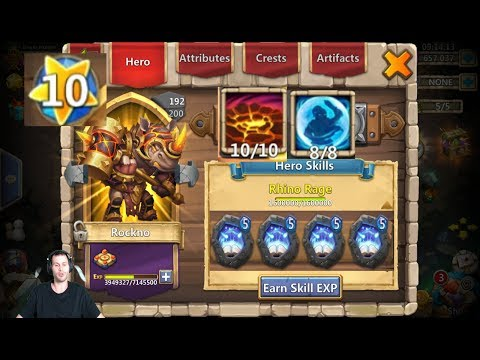 ROCKNO Review FULLY MAXXED ABSOLUTE BEAST MUST WATCH Castle Clash