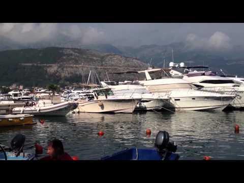 Montenegro - Budva marina