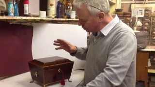 Antique George Iii Sewing Box