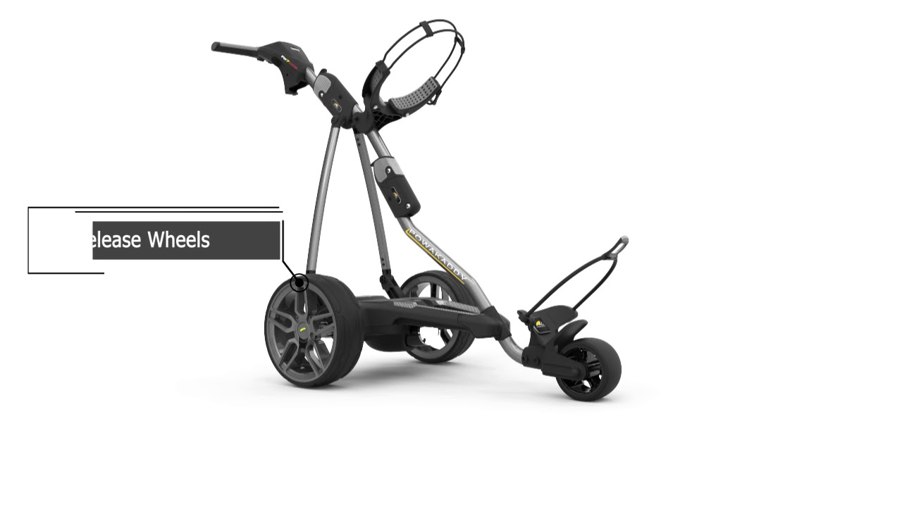 2018 PowaKaddy FW7s GPS Electric Trolley