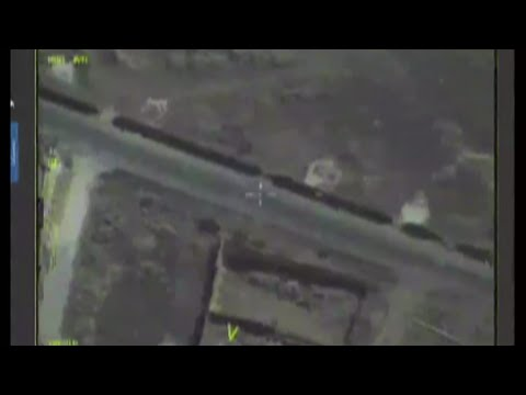 Russian reconnaissance drone monitoring Syrian ceasefire (Streamed live)