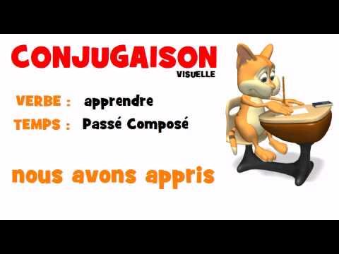 Conjugaison Apprendre Passe Compose Youtube