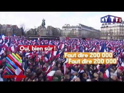 Manif pro Fillon : ce que nous apprennent les micros restés ouverts - Quotidien du 6 Mars