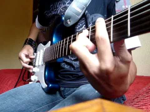Nightwish -10th man down guitar cover