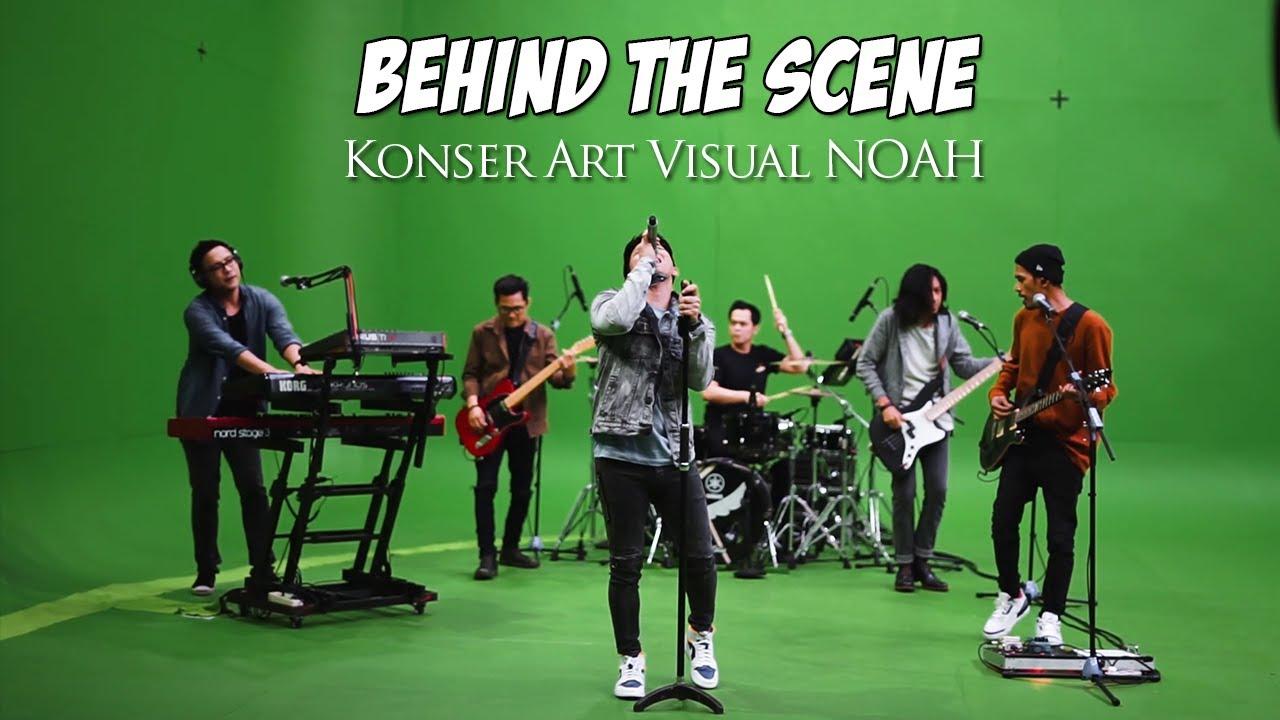 NOAH - Konser Art Visual NOAH : Perjalanan Tak Putus (Behind The Scene)
