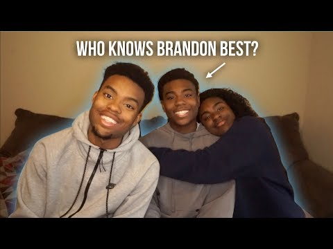 WHO KNOWS ME BETTER? BROTHER VS SISTER   BRIGGS SQUAD