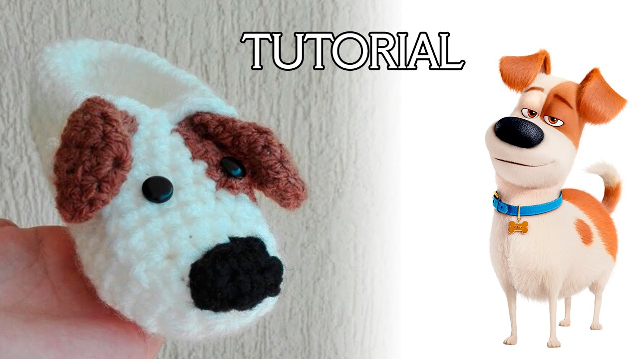 Tutorial pantufla de perrito a crochet - YouTube