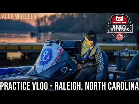 Major League Fishing Heavy Hitters Practice Vlog - Raleigh, NC