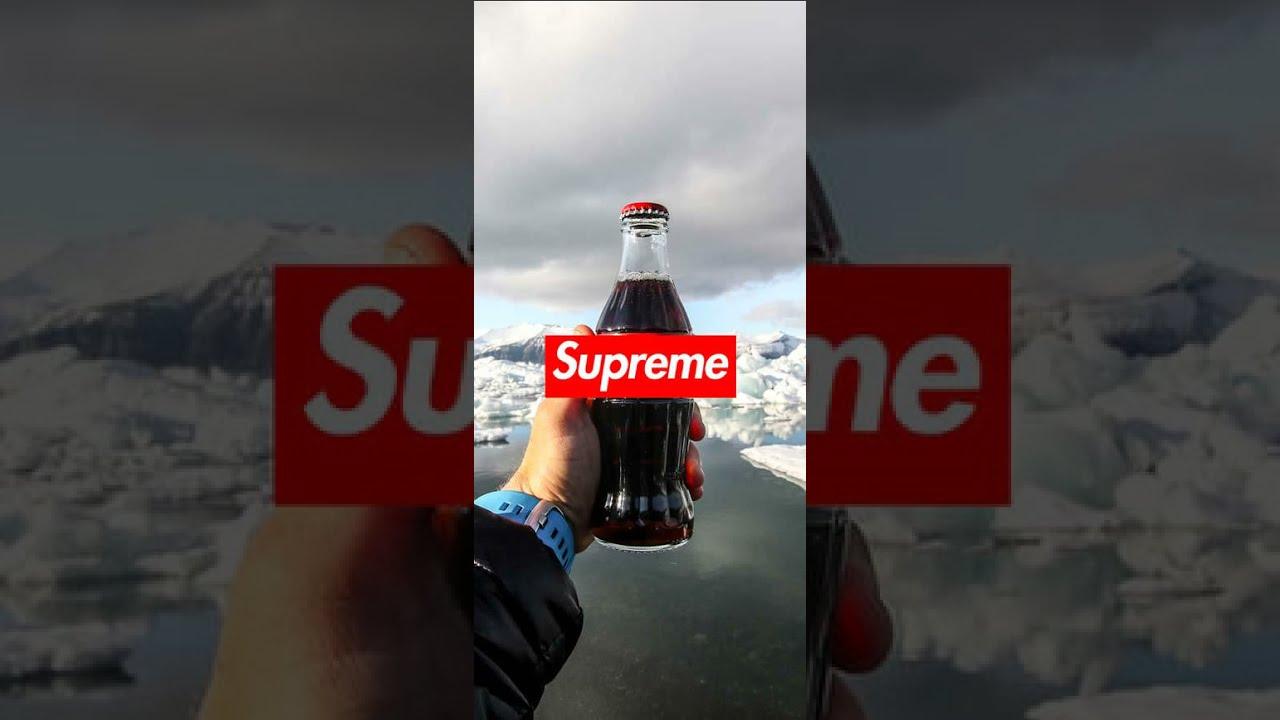 Wallpaper Iphone Fortnite Supreme Ikonik