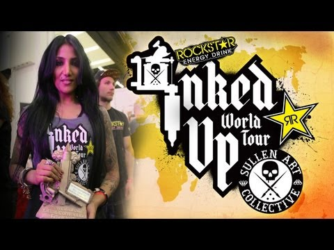 TATTOO CONVENTION COVERAGE - Rockstar Energy Miss Inked Up Frankfurt 2013
