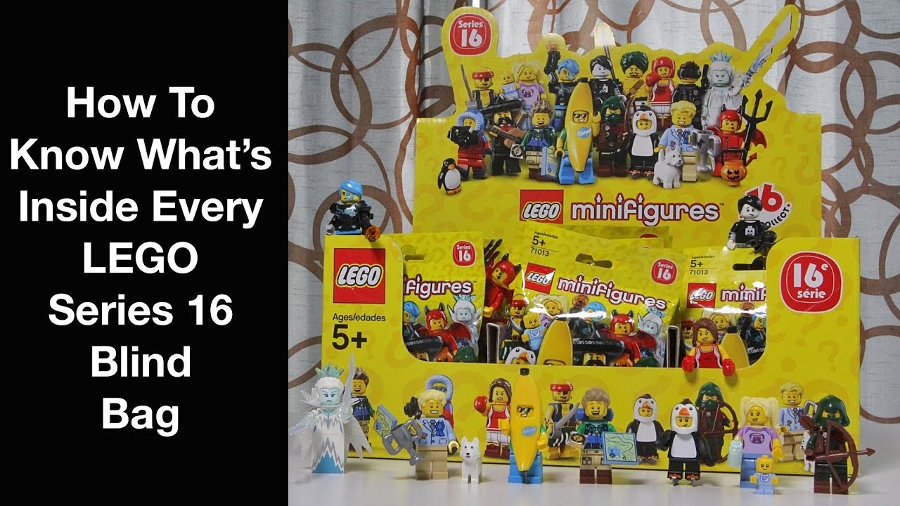 How To Know What S Inside Every Series 16 Lego Minifigure Blind Bag