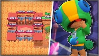 Leon Rushing The Middle Challenge! - Feast or Famine Gameplay! - Leon Tips & Tricks - Brawl Stars