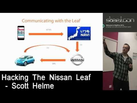 Hacking the Nissan Leaf - Scott Helme