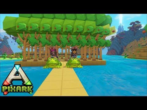 Minecraft Ark Coop #7: Taming Ếch xanh Beelzebufo dễ thương