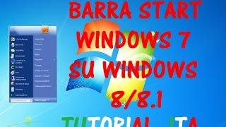 Come avere la vecchia barra Start di Windows 7 su Windows 8/8.1   Tutorial PC - ReucGame98