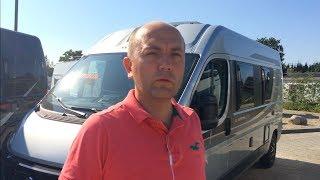 Семейный фургон с ниспадающей кроватью. 4 спальных. KNAUS BoxStar 600 DQ Solution 5.99м. Обзор