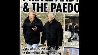 Prince Andrew Jeffrey Epstein the billionaire paedophile
