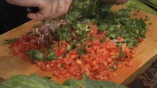 Chef Frank Miller  Makes Salsa Pico De Gallo Recipe
