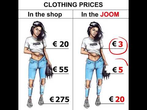 Cheap goods from China from the hopes of the suppliers. Joom application
