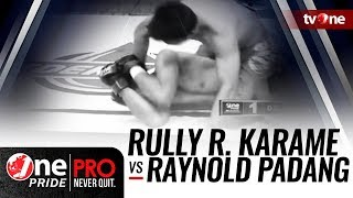 One Pride MMA #2: Rully R. Karame VS Raynold Padang