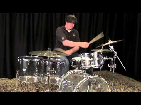 Pearl Crystal Beat Acrylic Drum Set 22/12/14/16 - Ultra Clear